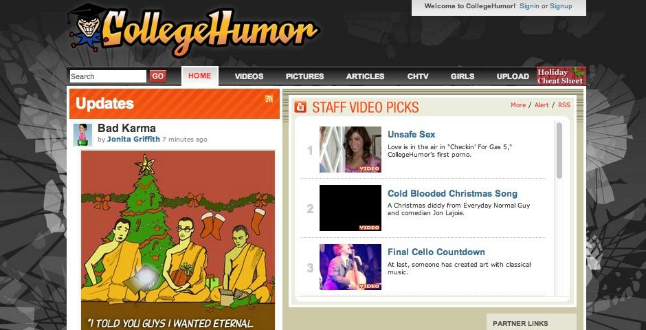 Nominee - CollegeHumor.com
