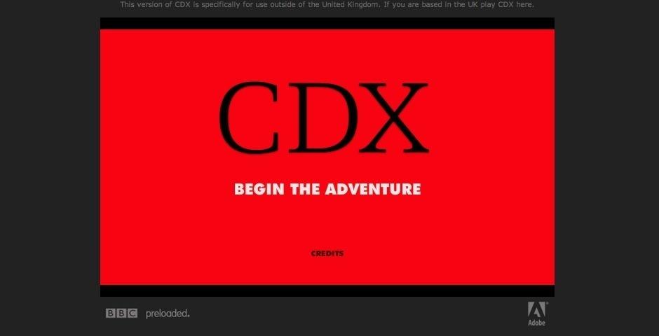 Webby Award Nominee - CDX