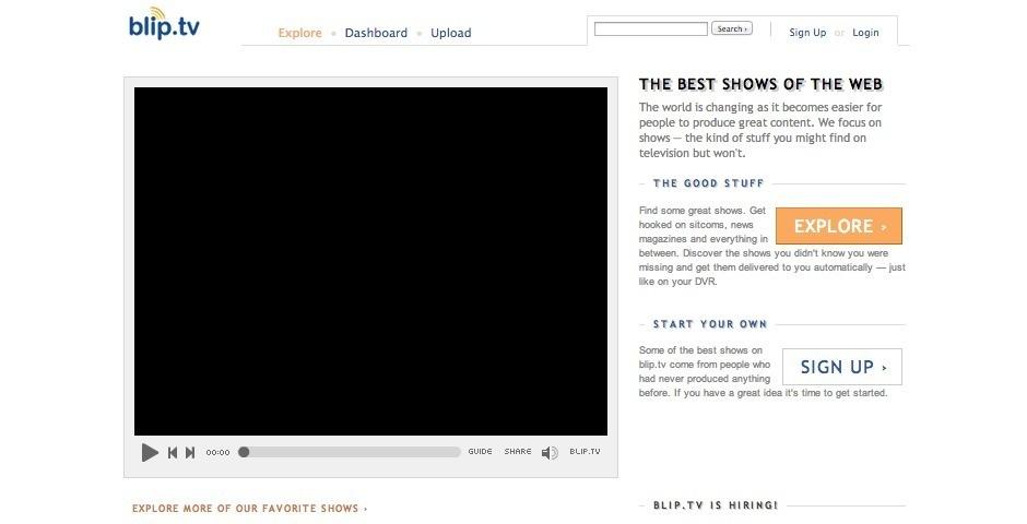 2007 Webby Winner - blip.tv