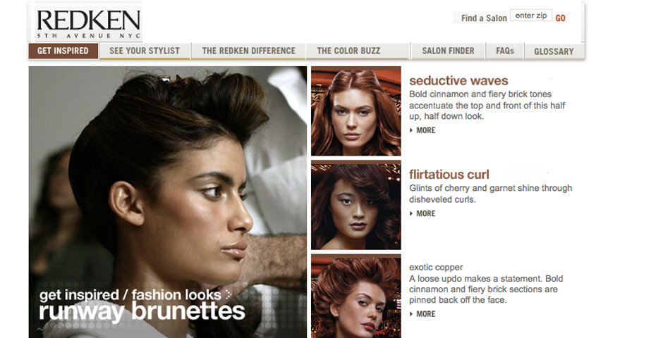 People's Voice / Webby Award Winner - Redken Haircolor
