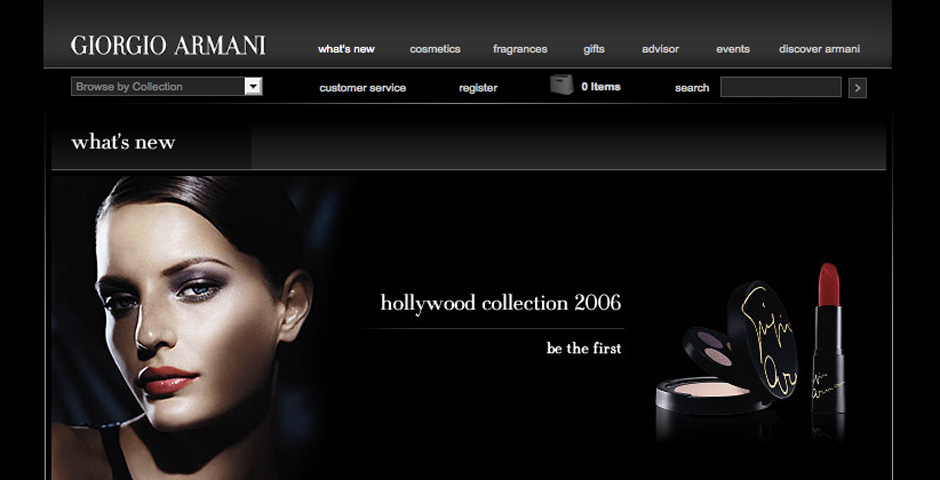Nominee - Giorgio Armani Beauty