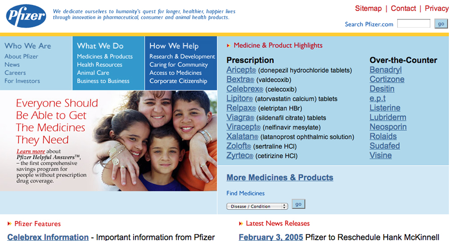 People's Voice - Pfizer Corporate Web Site