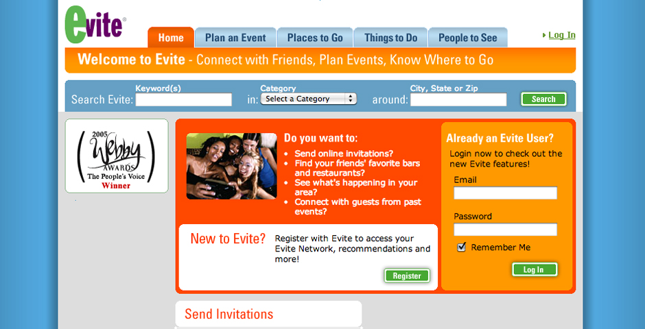 People's Voice - Evite – the free social planning site