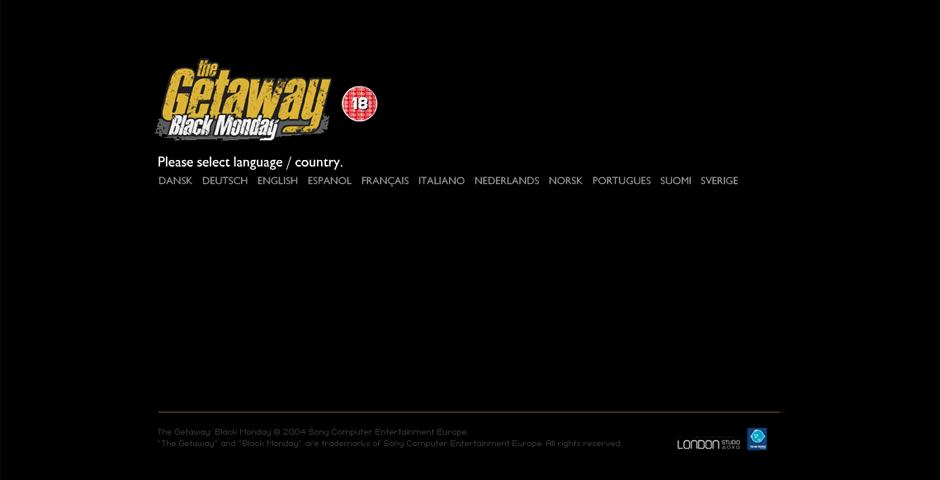 Nominee - The Getaway: Black Monday