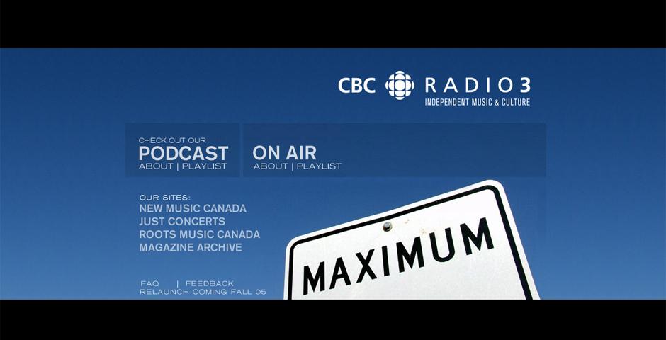 Nominee - CBC Radio 3
