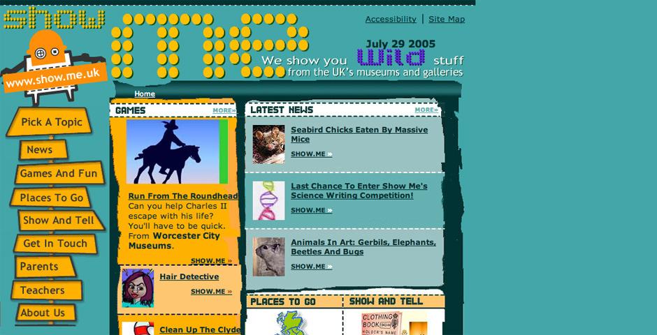 Webby Award Nominee - Show Me