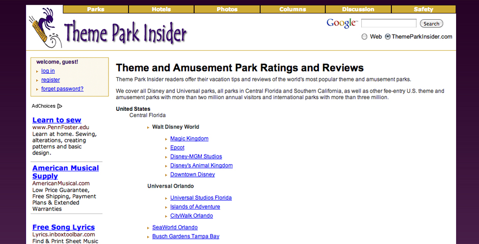 Nominee - Theme Park Insider