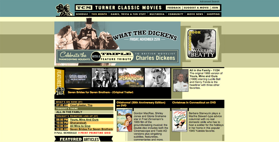 Webby Award Nominee - Turner Classic Movies: The Essentials