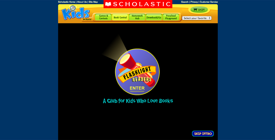Nominee - Flashlight Readers: An Online Club for Kids Who Love Books