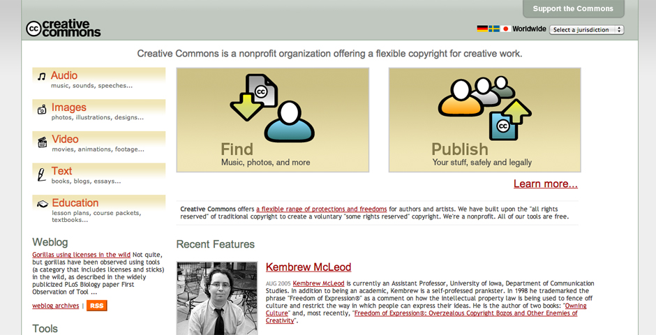 Nominee - Welcome to Creative Commons!