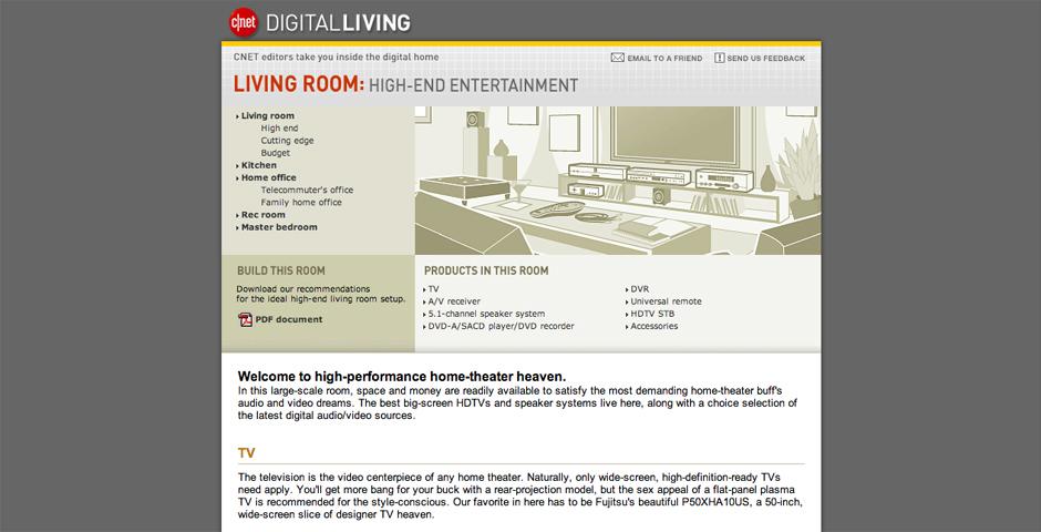 Nominee - CNET Digital Living