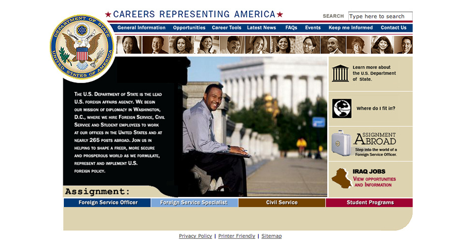 Webby Award Nominee - US Department of State