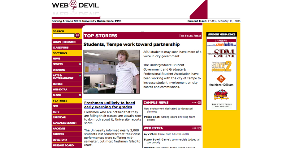 Nominee - ASU Web Devil