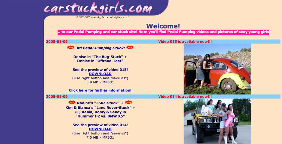 Nominee - Car Stuck Girls