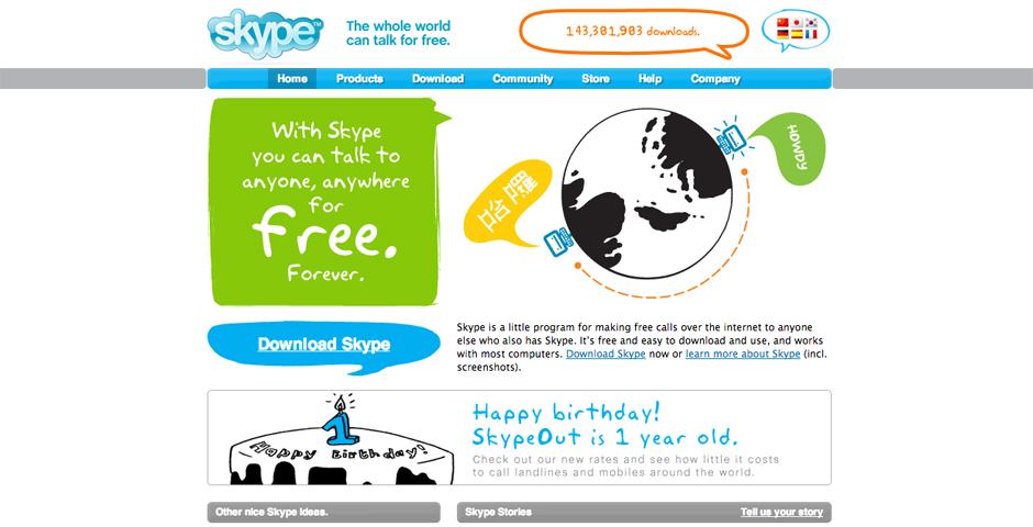 Webby Award Winner - Skype