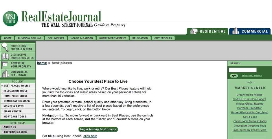 Nominee - RealEstateJournal.com, The Wall Street Journal's guide to property