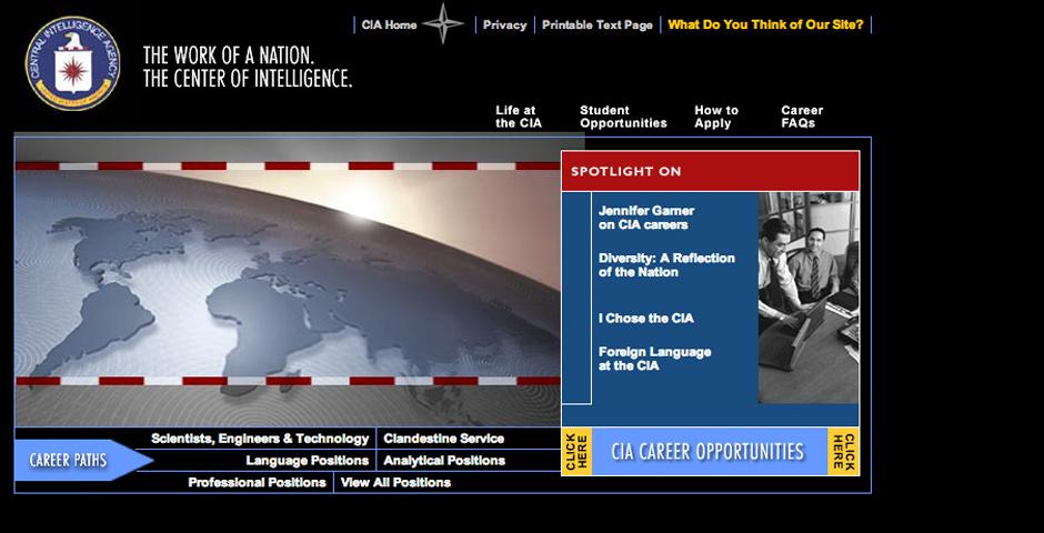 2005 Webby Winner - Central Intelligence Agency
