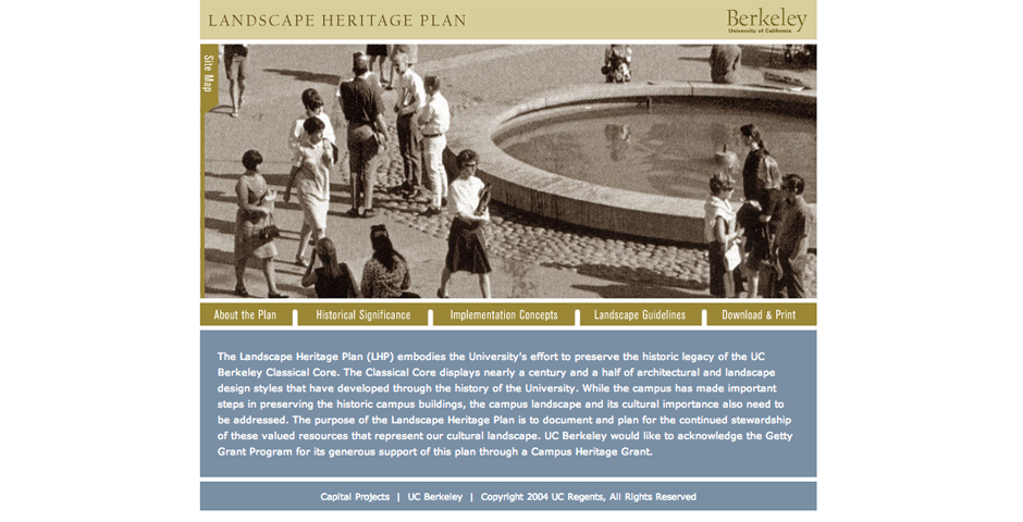 People's Voice - University of California, Berkeley – Landscape Heritage Plan