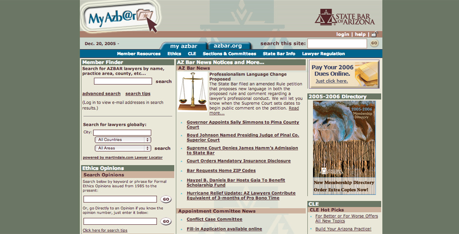 People's Voice - State Bar of Arizona: Public Information Site
