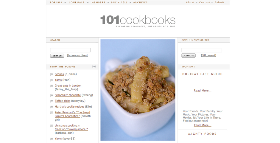 People's Voice - 101 Cookbooks