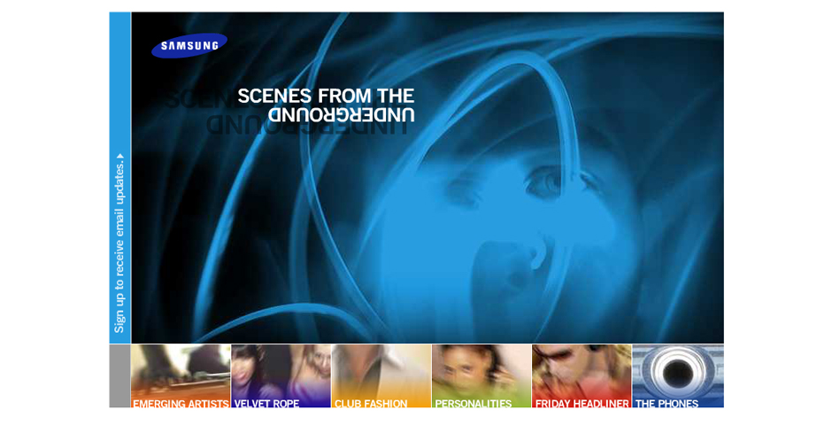 Nominee - Scenes from the Underground