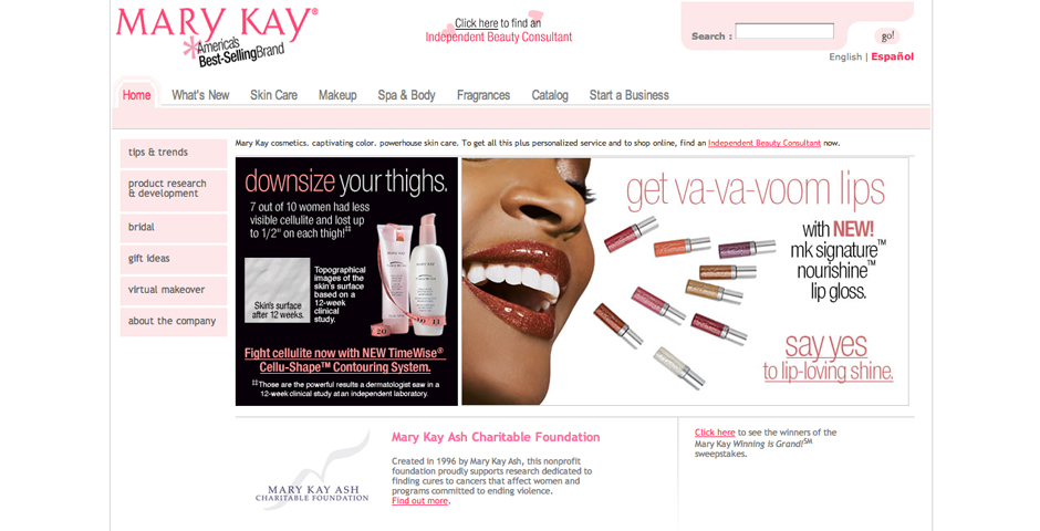 People's Voice - Mary Kay Personal Web Site