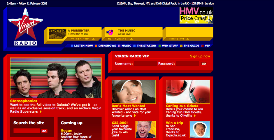 People's Voice / Webby Award Winner - Virgin Radio