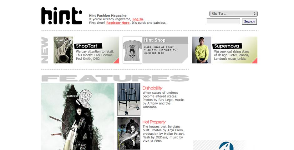 Nominee - Hint Fashion Magazine