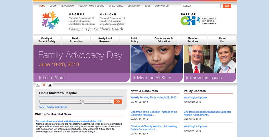 Nominee - National Association of Children's Hospitals