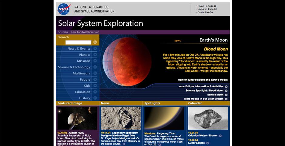 Nominee - Solar System Exploration