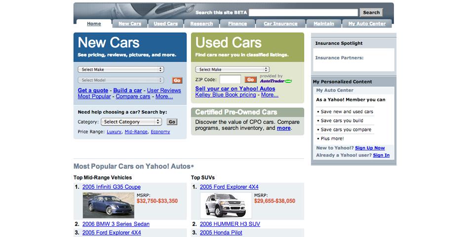 Nominee - Yahoo! Autos