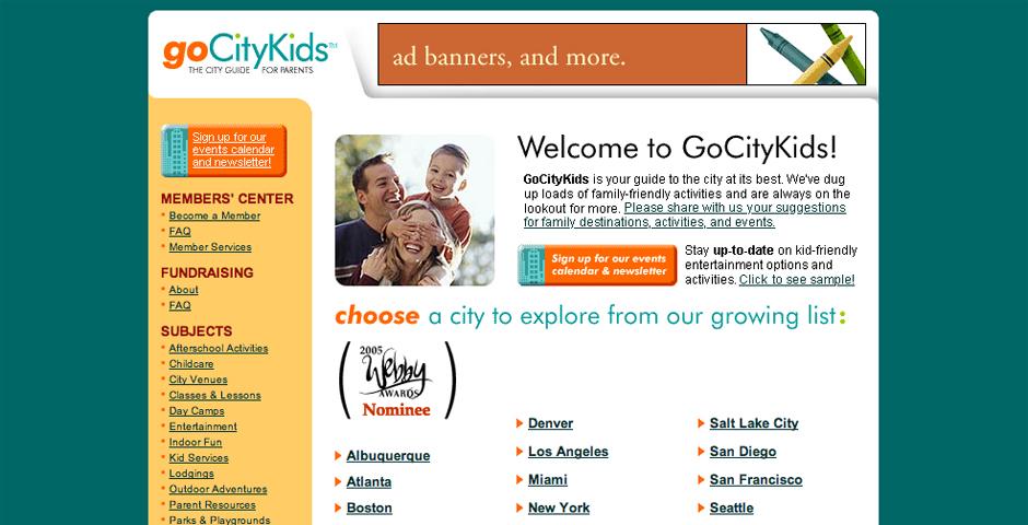 Nominee - GoCityKids.com