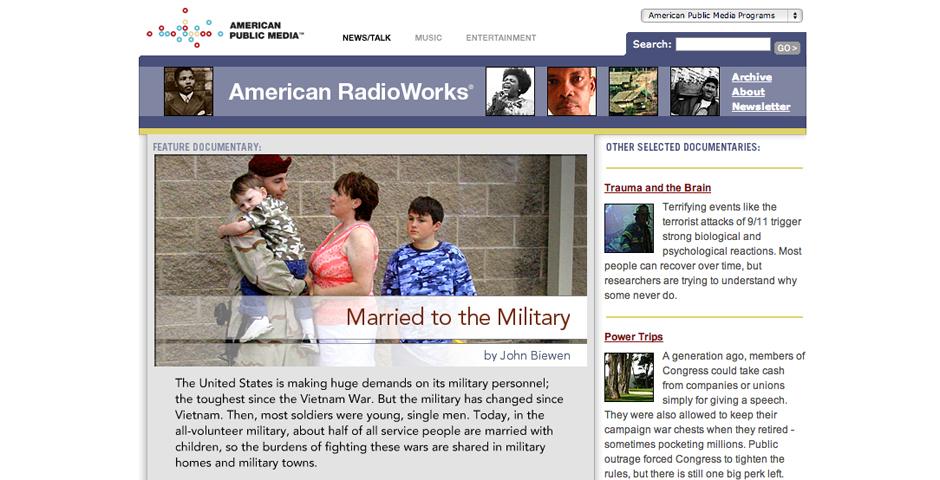 Nominee - American RadioWorks