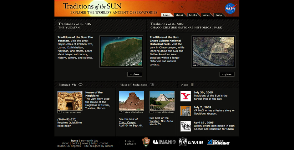 Webby Award Nominee - Traditions of the Sun: Chaco Culture National Historical Park