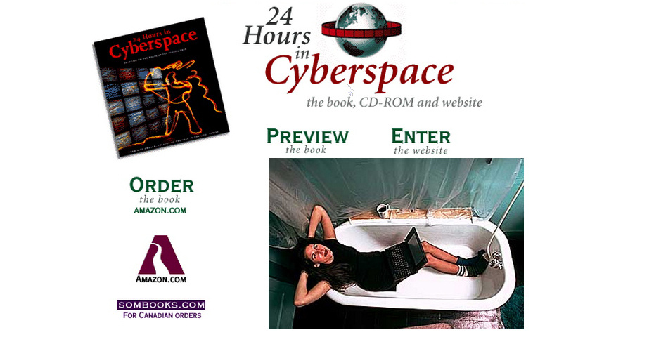 Webby Award Nominee - 24 Hours in Cyberspace