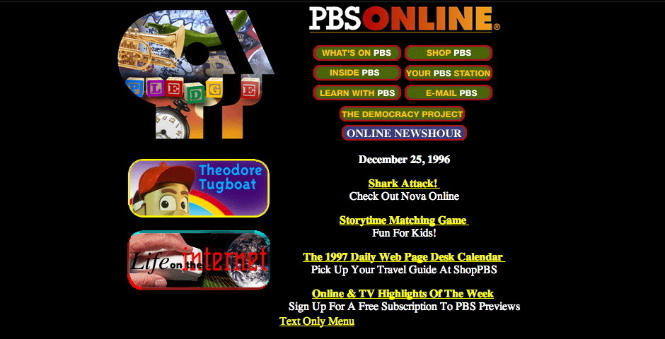 Webby Award Nominee - PBS Online