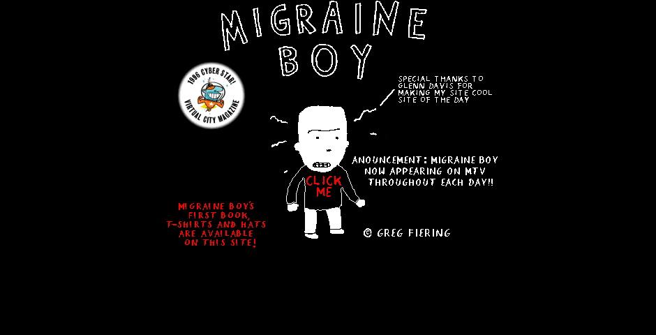 Nominee - Migraine Boy