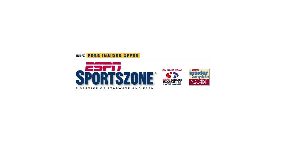 Webby Award Winner - ESPNet SportsZone