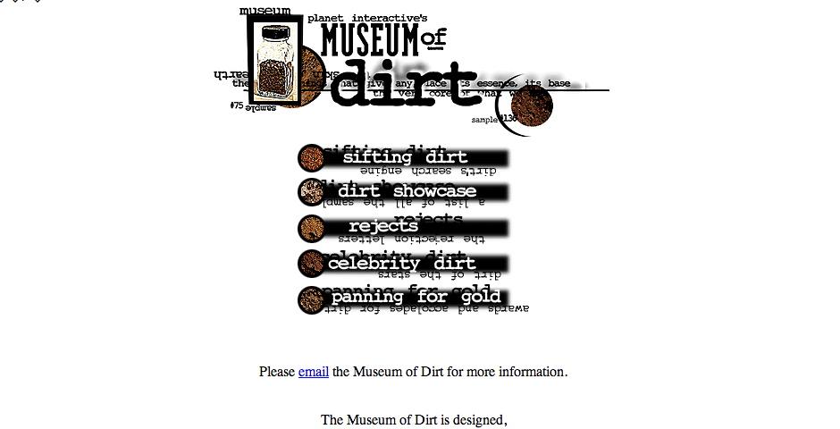 Nominee - Museum of Dirt