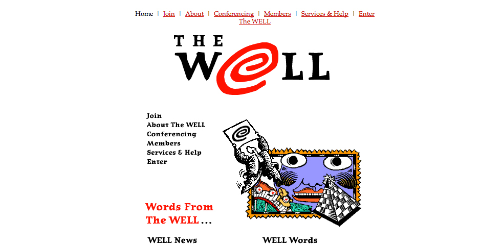 Webby Award Winner - The WELL