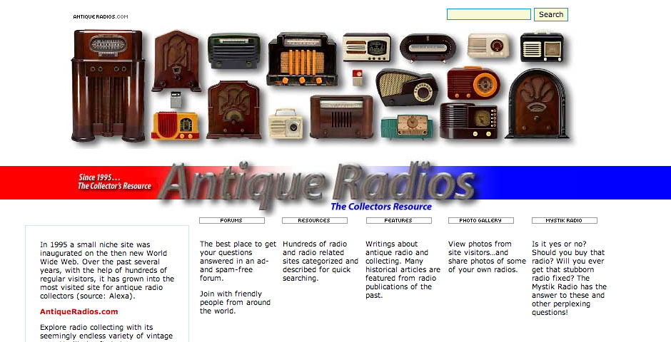 Nominee - Antique Radios Online