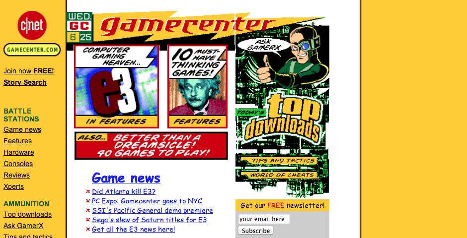 Nominee - GAMECENTER.COM