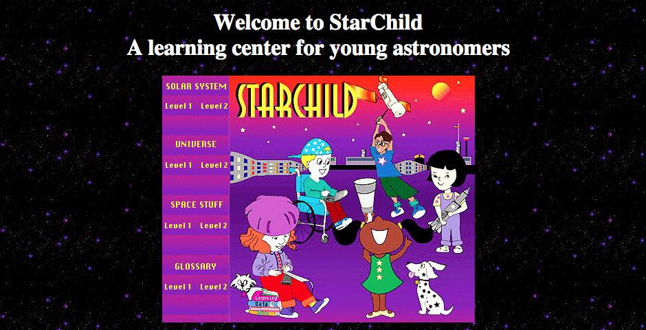 1998 Webby Winner - StarChild