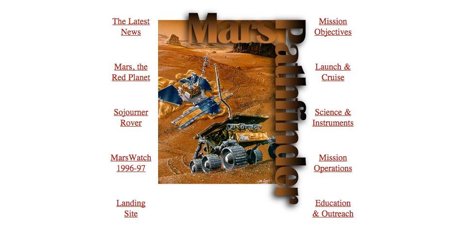 Nominee - Mars Pathfinder Mission