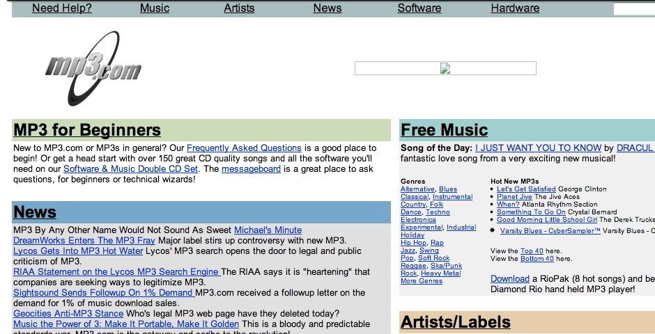 1999 Webby Winner - mp3