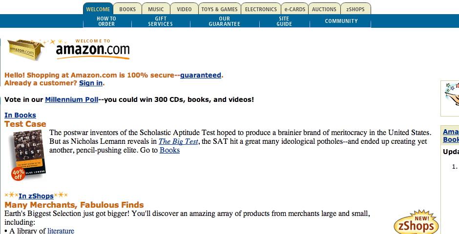 Webby Award Winner - Amazon.com