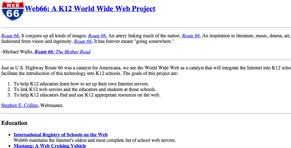Nominee - Web66