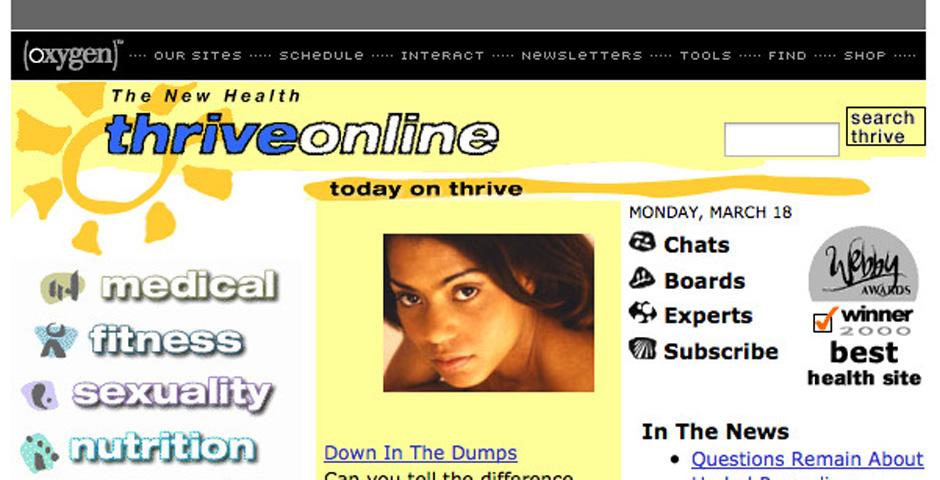 Webby Award Winner - Thrive Online