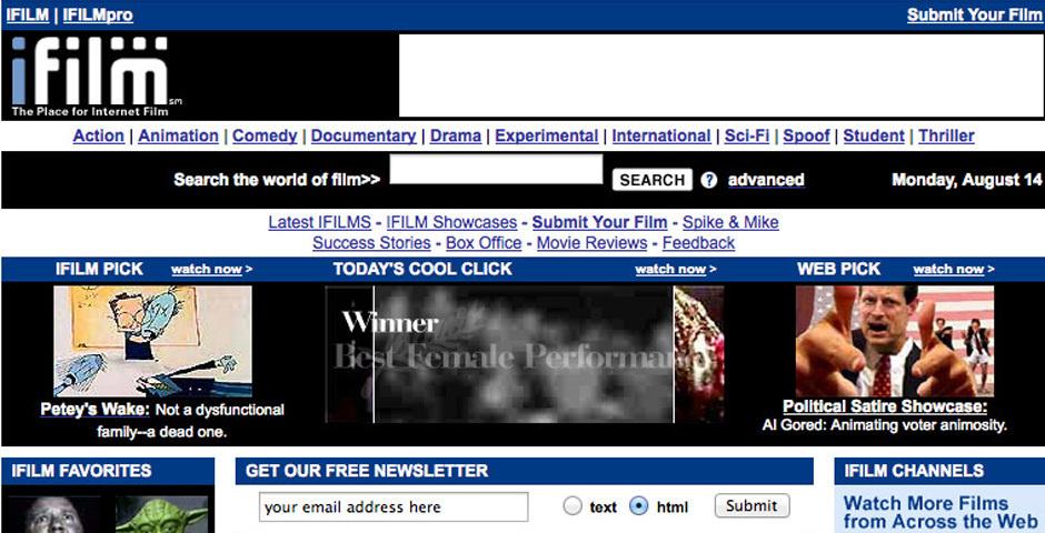 Webby Award Nominee - IFILM