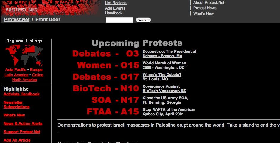 Nominee - Protest Net